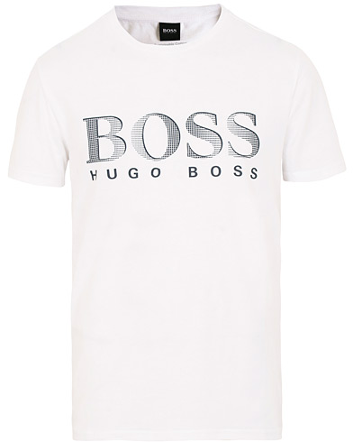 BOSS Sun Protection Tee White i gruppen Kläder / T-Shirts / Kortärmade t-shirts hos Care of Carl (15797211r)