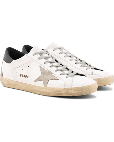 Golden Goose Deluxe Brand Cream Metal Lettering Superstar Sneaker White Calf i gruppen Skor / Sneakers / Låga sneakers hos Care of Carl (15807711r)