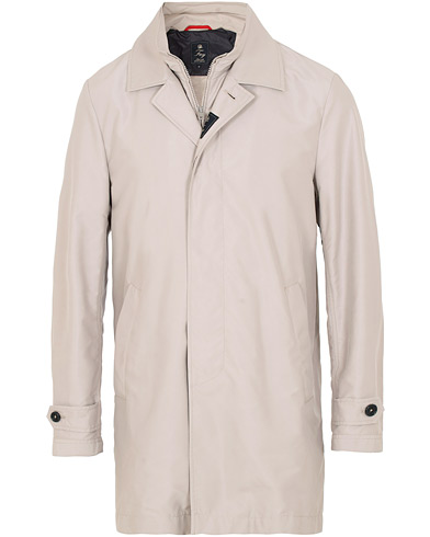 Fay Morning Double Front Nylon Coat Light Grey i gruppen Kläder / Jackor / Rockar hos Care of Carl (15808711r)