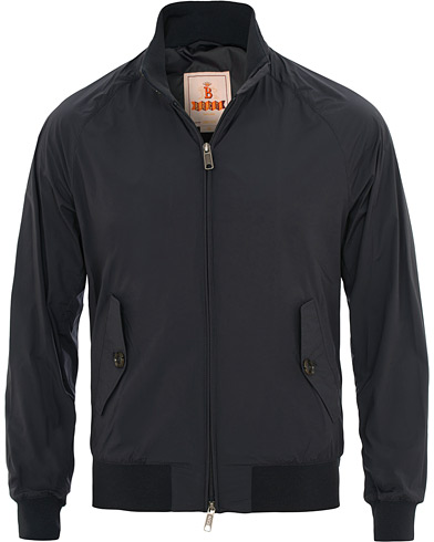 Baracuta G9 Original Harrington Stretch Jacket Deep Blue i gruppen Kläder / Jackor / Tunna jackor hos Care of Carl (15810111r)