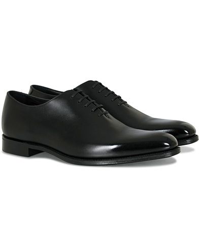 Loake 1880 Export Grade Parliament Whole-Cut Oxford Onyx Black i gruppen Skor / Oxfords hos Care of Carl (15827211r)
