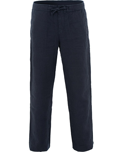 Orlebar Brown Stoneleigh Linen Trousers Navy i gruppen Kläder / Byxor / Linnebyxor hos Care of Carl (15830311r)