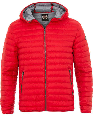 Colmar Lightweight Down Hooded Jacket Hermes Red i gruppen Kläder / Jackor / Dunjackor hos Care of Carl (15834011r)