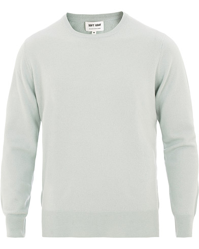 Soft Goat Cashmere O-Neck Seasalt i gruppen  hos Care of Carl (15841011r)