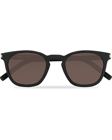 Saint Laurent SL 28 Sunglasses Black/Grey  i gruppen Accessoarer / Solglasögon hos Care of Carl (15861110)