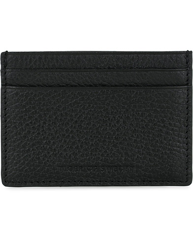 Tiger of Sweden Wake Grained Leather Cardholder Black  i gruppen Accessoarer / Plånböcker hos Care of Carl (16015710)