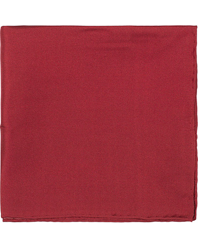 Amanda Christensen Handkercheif Silk Wine Red  i gruppen Accessoarer / Näsdukar hos Care of Carl (16024910)