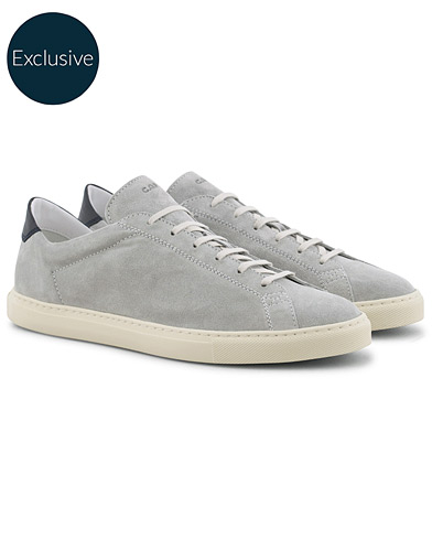 C.QP Exclusively Made For Care of Carl Racquet Sneaker Grey i gruppen Skor / Sneakers / Låga sneakers hos Care of Carl (16026711r)