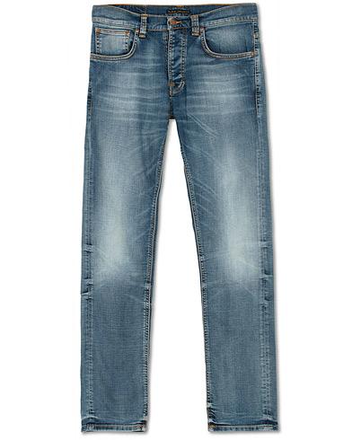 Nudie Jeans Grim Tim Organic Jeans Worn In Broken