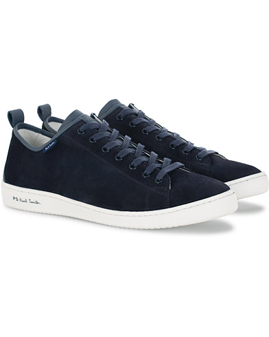 PS Paul Smith Miyata Sneaker Navy Suede i gruppen Skor / Sneakers hos Care of Carl (16053411r)