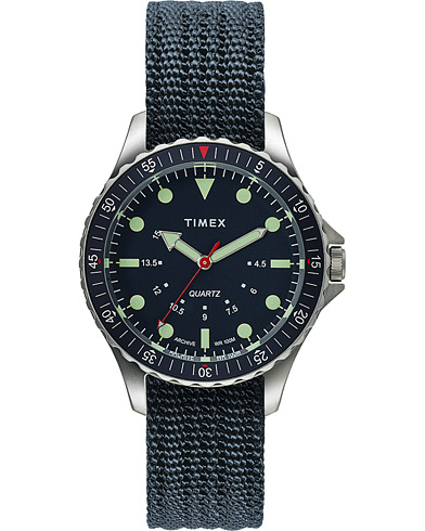 Timex Navi Depth 38mm Steel/Blue Dial  i gruppen Accessoarer / Klockor hos Care of Carl (16055510)