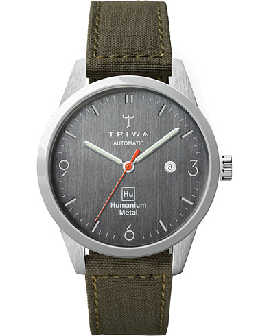 Triwa Humanium Automatic Recycled Green 39mm   i gruppen Accessoarer / Klockor hos Care of Carl (16061610)