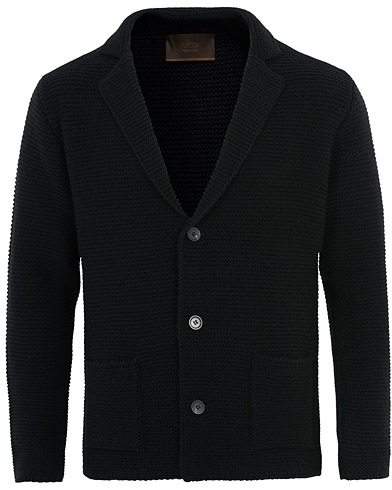 Altea Knitted Cardigan Blazer Navy i gruppen Kläder / Tröjor / Cardigans hos Care of Carl (16080511r)