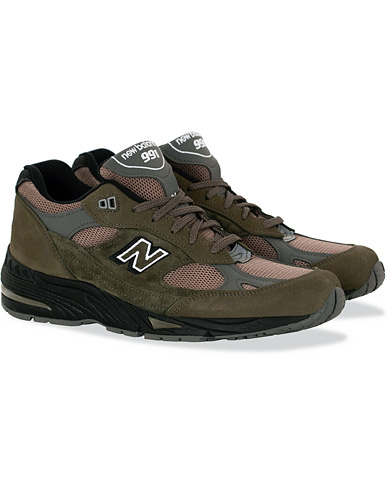 New Balance Made in England 991 Sneaker Khaki i gruppen Skor / Sneakers / Running sneakers hos Care of Carl (16087611r)