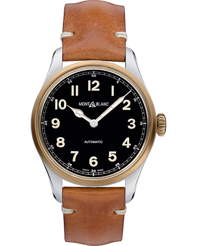 Montblanc 1858 Steel Bronze Automatic 40mm Black Dial  i gruppen Accessoarer / Klockor hos Care of Carl (16090510)