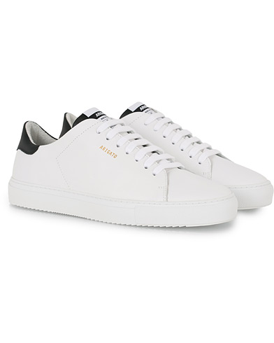 Axel Arigato Clean 90 Contrast Sneaker White/Black Leather i gruppen Skor / Sneakers hos Care of Carl (16090811r)