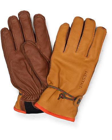 Hestra Wakayama Leather Ski Glove Congac/Brown