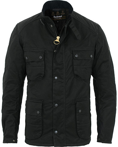 Barbour International Weir Waxed Jacket Black i gruppen Kläder / Jackor / Vaxade jackor hos Care of Carl (16234411r)