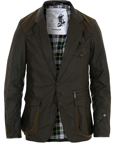 Barbour Lifestyle 125 Re-Engineered Beacons Sports Wax Jacket Olive i gruppen Kläder / Jackor / Vaxade jackor hos Care of Carl (16236711r)