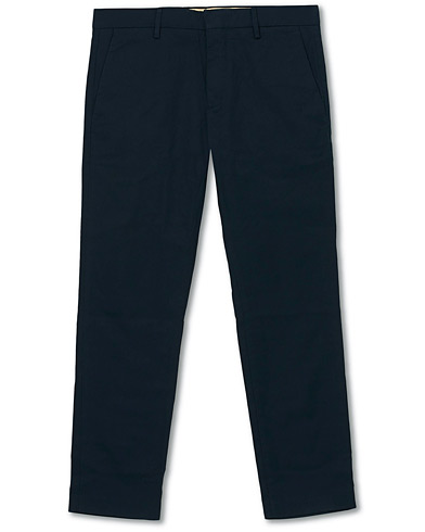 NN07 Theo Regular Fit Stretch Chinos Navy Blue i gruppen Kläder / Byxor / Chinos hos Care of Carl (16255011r)
