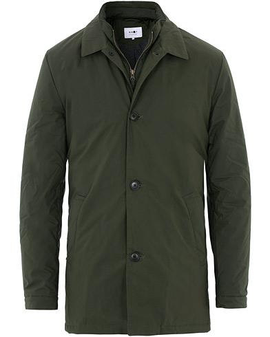 NN07 Blake Wax Jacket Army Green