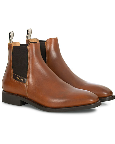 GANT James Chelsea Boot Congac Calf i gruppen Skor / Kängor hos Care of Carl (16266211r)