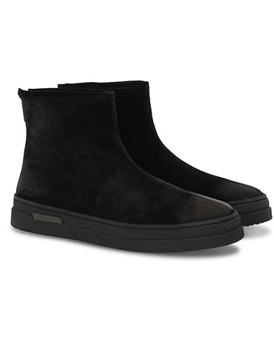 GANT Creek Curling Boot Black Suede i gruppen Skor / Kängor hos Care of Carl (16267011r)