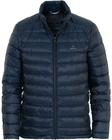 GANT The Lightdown Jacket Navy i gruppen Kläder / Jackor / Dunjackor hos Care of Carl (16269711r)