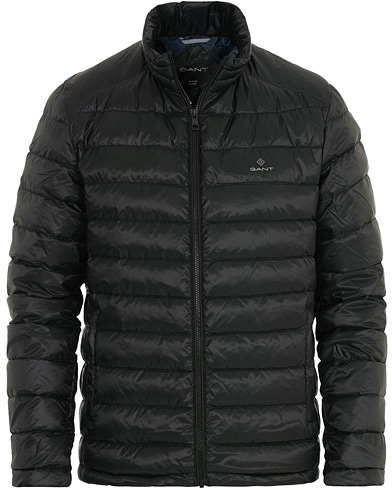 GANT The Lightdown Jacket Black i gruppen Kläder / Jackor / Dunjackor hos Care of Carl (16269811r)