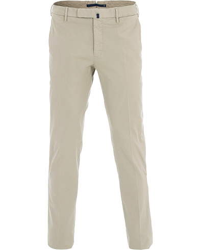 Incotex Slim Fit Comfort Chino Sand i gruppen Kläder / Byxor / Chinos hos Care of Carl (16283311r)