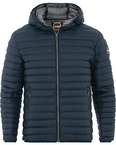Colmar Floid Lightweight Down Hooded Jacket Navy i gruppen Kläder / Jackor / Dunjackor hos Care of Carl (16303711r)