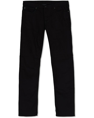 Emporio Armani Slim Fit 5-Pocket Trousers Black i gruppen Kläder / Byxor / 5-ficksbyxor hos Care of Carl (16311411r)