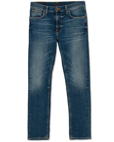Nudie Jeans Lean Dean Organic Jeans Indigo Shades