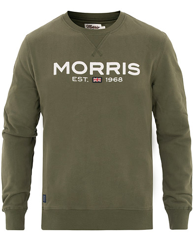 Morris Doyle Crew Neck Sweatshirt Green i gruppen Kläder / Tröjor / Sweatshirts hos Care of Carl (16333511r)