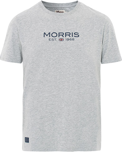 Morris Doyle Crew Neck Tee Grey i gruppen Kläder / T-Shirts / Kortärmade t-shirts hos Care of Carl (16335211r)