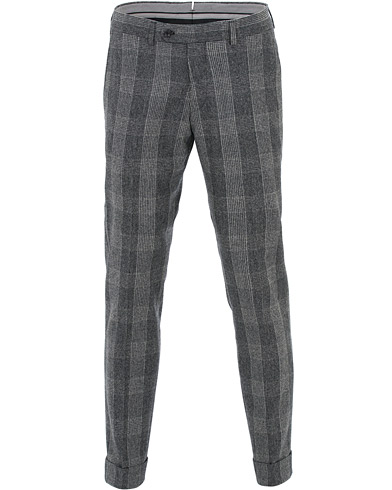 Morris Heritage Fred Prince Of Wales Suit Trousers Grey i gruppen Kläder / Byxor / Kostymbyxor hos Care of Carl (16342111r)