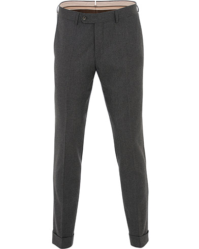 Morris Heritage Fred Flannel Trousers Brown i gruppen Kläder / Byxor / Flanellbyxor hos Care of Carl (16342611r)