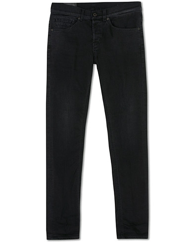 Dondup George Jeans Black i gruppen Kläder / Jeans hos Care of Carl (16367611r)