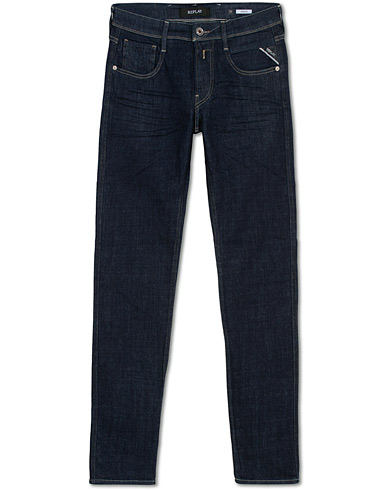 Replay Anbass Powerstretch 0 Years Wash Jeans Dark Blue i gruppen Kläder / Jeans hos Care of Carl (16370811r)