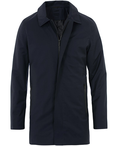UBR Regulator Coat II Savile Dark Navy Wool i gruppen Kläder / Jackor / Rockar hos Care of Carl (16435211r)