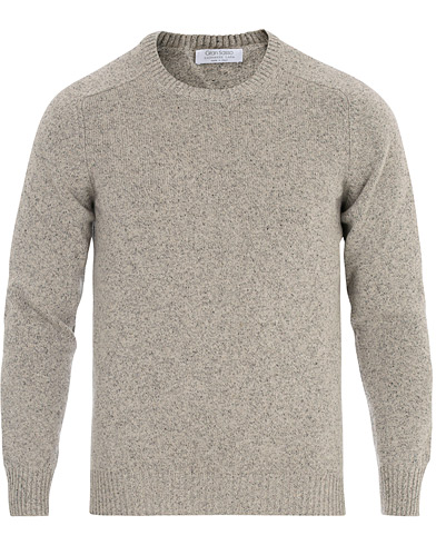 Gran Sasso Wool/Cashmere Crew Neck Oat
