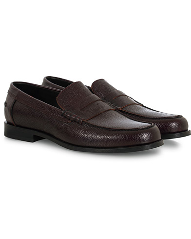 PS Paul Smith Teddy Loafer Burgundy Calf i gruppen Skor / Loafers hos Care of Carl (16462611r)