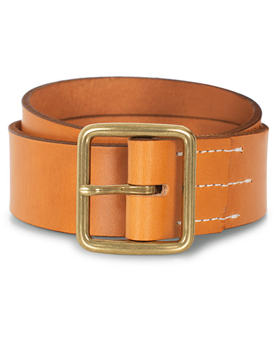 Red Wing Shoes Vegetable Leather Belt Natural Tan English Bridle i gruppen Accessoarer / Bälten hos Care of Carl (16466811r)