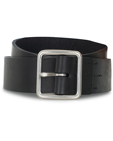 Red Wing Shoes Vegetable Leather Belt Black English Bridle i gruppen Accessoarer / Bälten hos Care of Carl (16467011r)