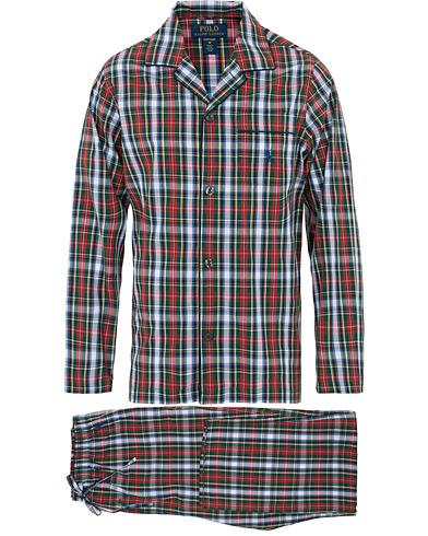Polo Ralph Lauren Check Pyjama Set Red/White
