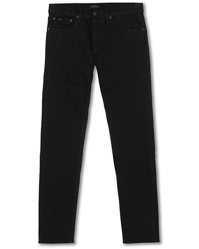 Polo Ralph Lauren Sullivan Slim Fit Hudson Stretch Jeans Black