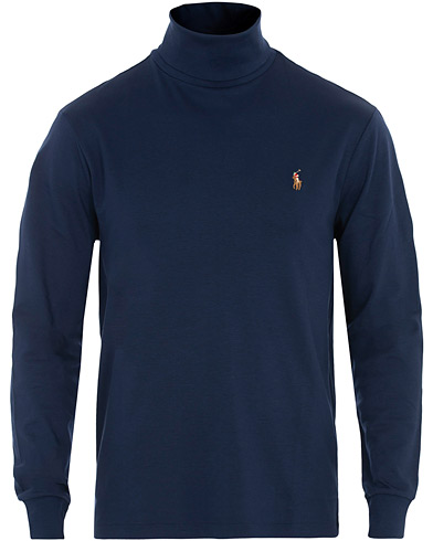 Polo Ralph Lauren Jersey Rollneck French Navy i gruppen Kläder / Tröjor / Polotröjor hos Care of Carl (16506911r)