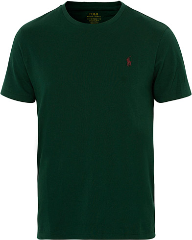 Polo Ralph Lauren Crew Neck Tee Green i gruppen Kläder / T-Shirts / Kortärmade t-shirts hos Care of Carl (16510811r)