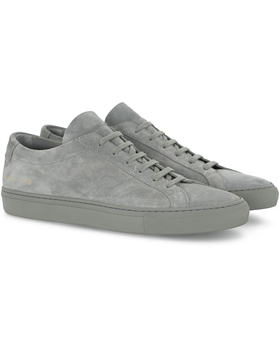 Common Projects Original Achilles Suede Sneaker Grey i gruppen Skor / Sneakers hos Care of Carl (16542611r)