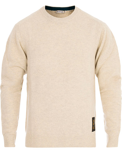 Tiger of Sweden Jeans Aint Wool Pullover Birch Bark i gruppen Kläder / Tröjor / Pullover rundhals hos Care of Carl (16561911r)
